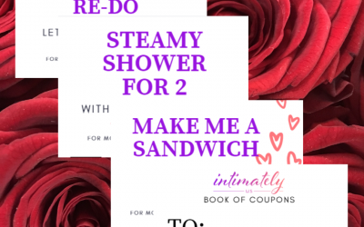 Sweet & Sexy Coupon Book for Valentine's Day